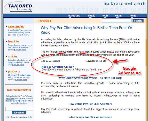 Don't Make Your Google Adsense Ads Stick Out - New Media Needs A ...