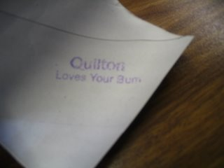 Quilton Loves Your Bum