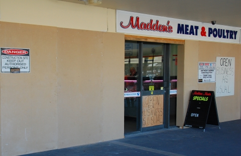 Madden's Meat & Poultry is open for business