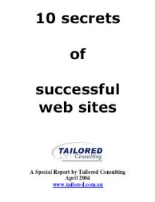 10 Time Honoured Secrets of Successful Web Sites