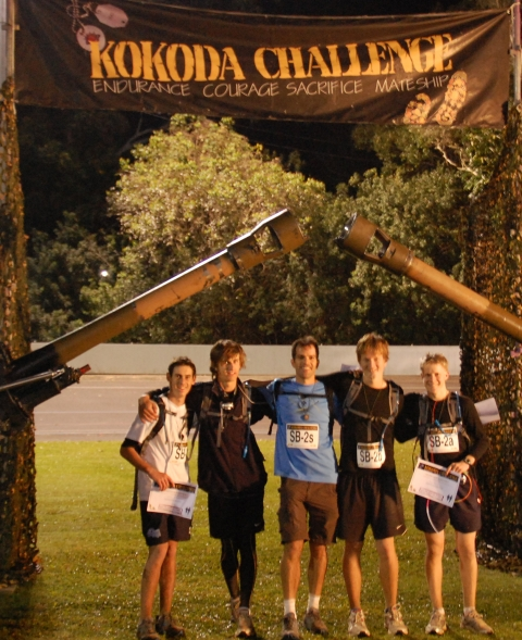 Kokoda Challenge 2010 School Team Champions