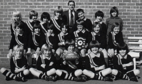The Mighty Campbell St Primary Team of 1976