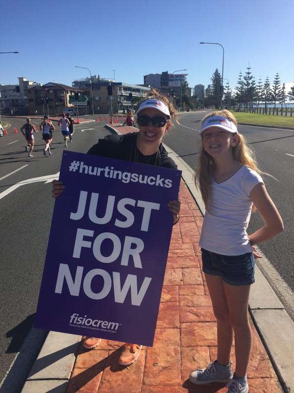Jo & daughter Taylah get set to inspire at the GC Marathon