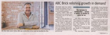 ABC Bricks_Gold Coast Bulletin