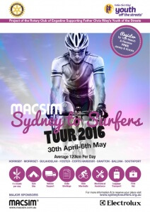 Sydney to Surfers 2016 Charity Ride Still Open