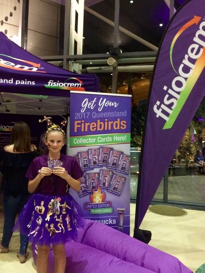 fisiocrem support the Firebirds all the way!