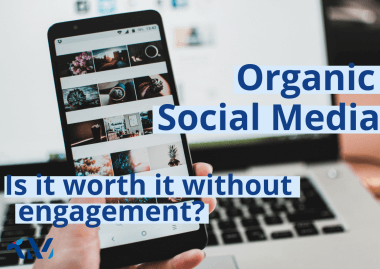 Is organic social media worth it if you're not getting any engagement?