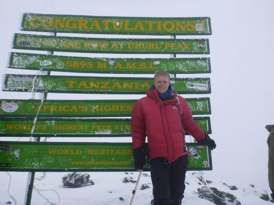 Top of Mt Kilimanjaro